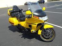 Custom Yellow GL1500 Goldwing